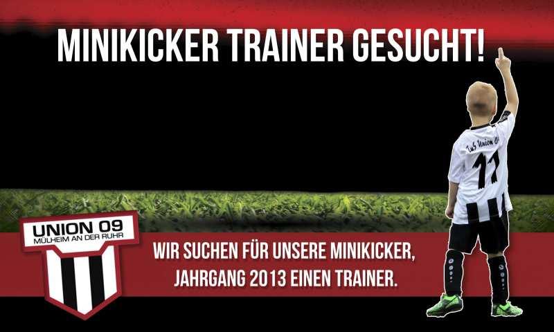 Minikicker-Trainer-gesucht