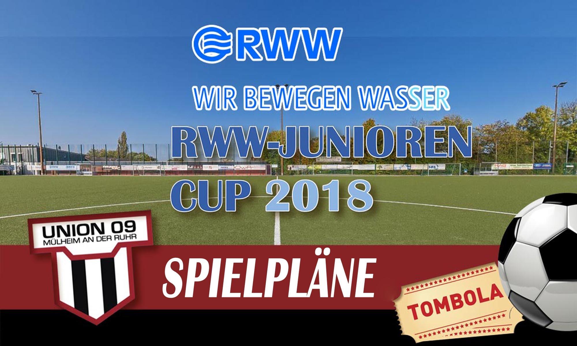 Spielpläne RWW-Junioren Cup 2018