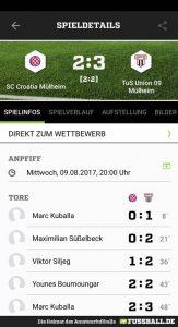 1. Mannschaft: Sieg im letzten Testspiel. Saisonauftakt am Sonntag im Pokal!!!