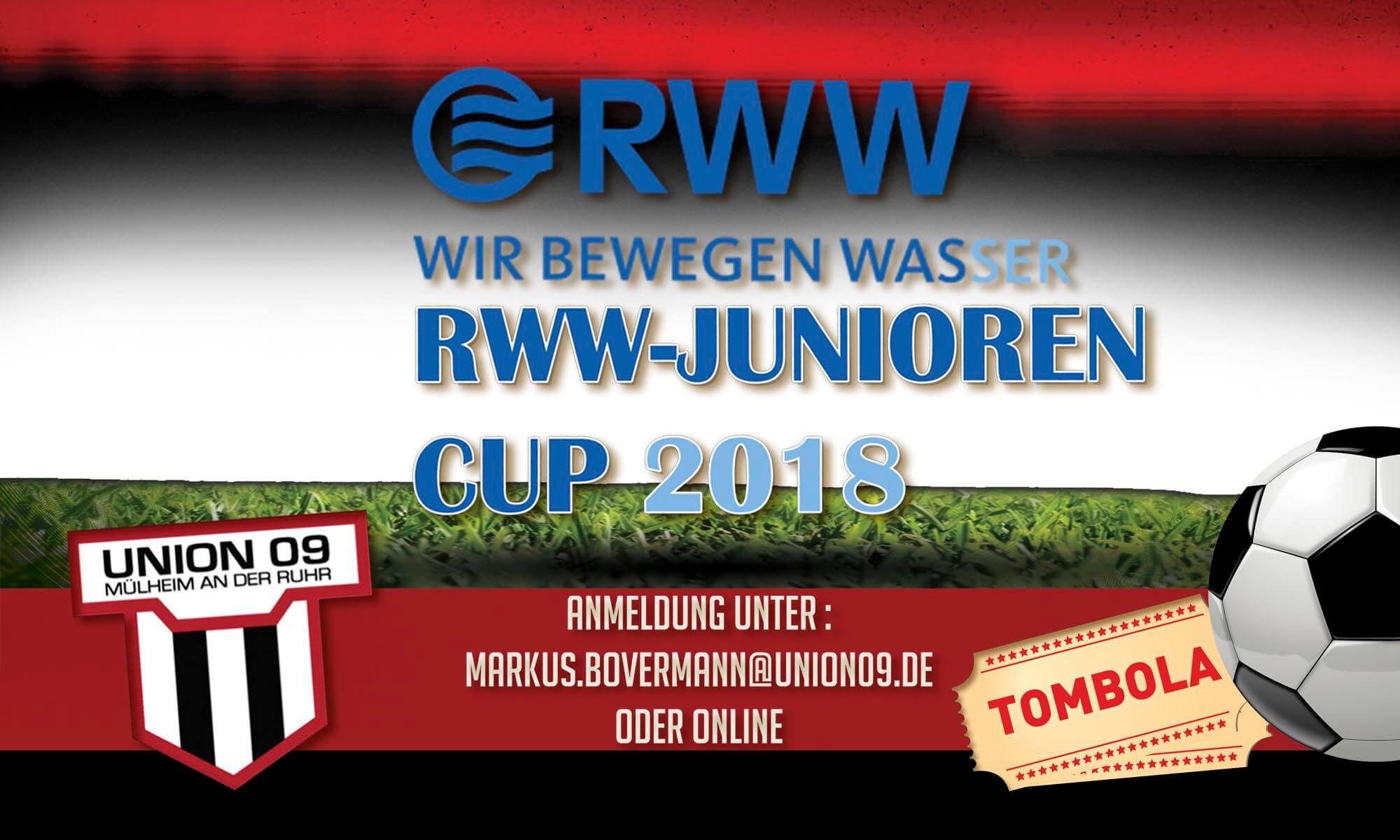2 Bambini-Mannschaften für RWW-Junioren-Cup dringends gesucht!
