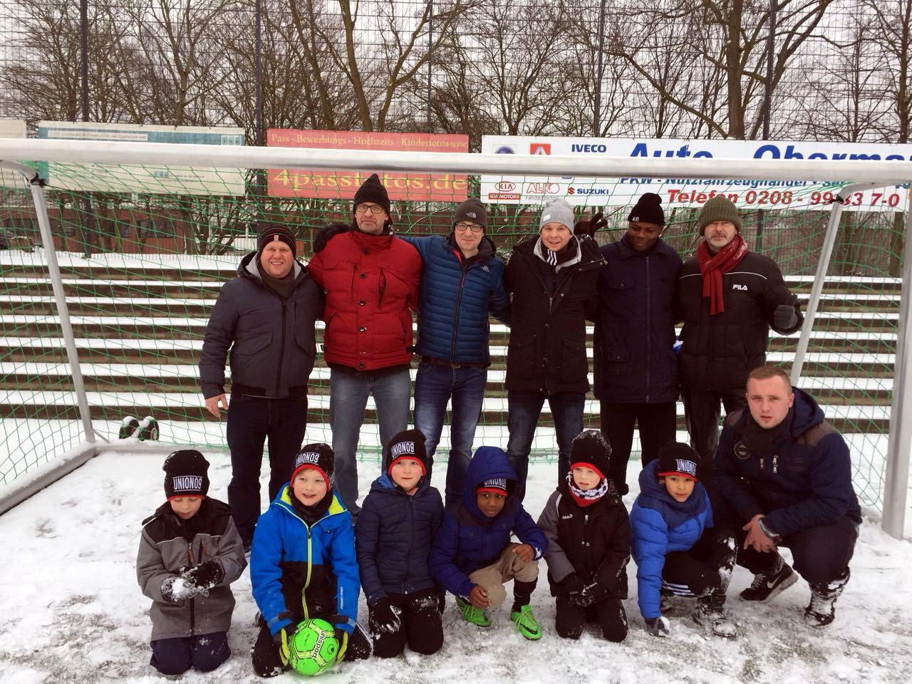 Bambini – Trotz Ausfall des Spiels – Spaß im Schnee