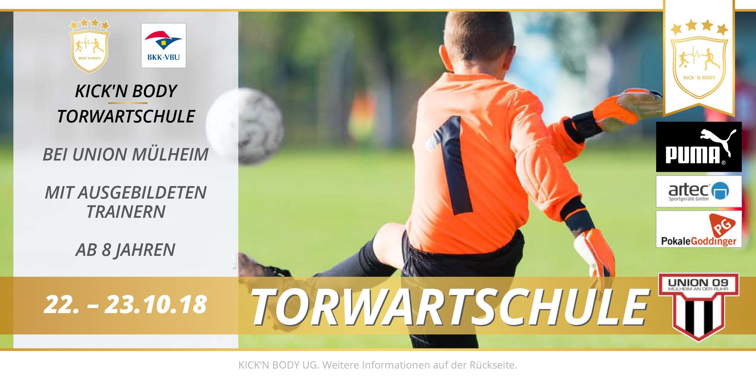 Kick'n'Body Torwartschule!
