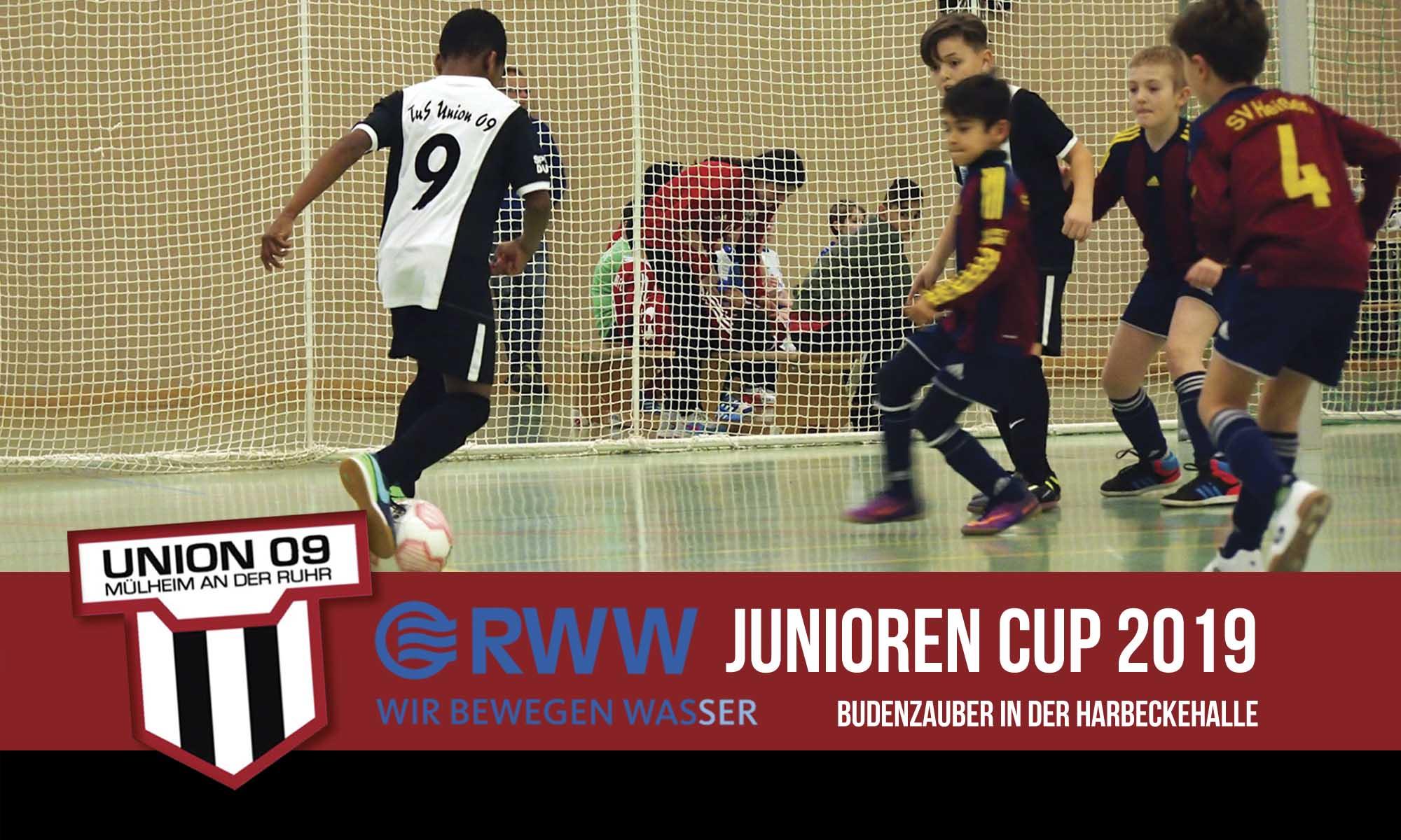 Spielpläne RWW-Junioren Cup 2019 sind Online