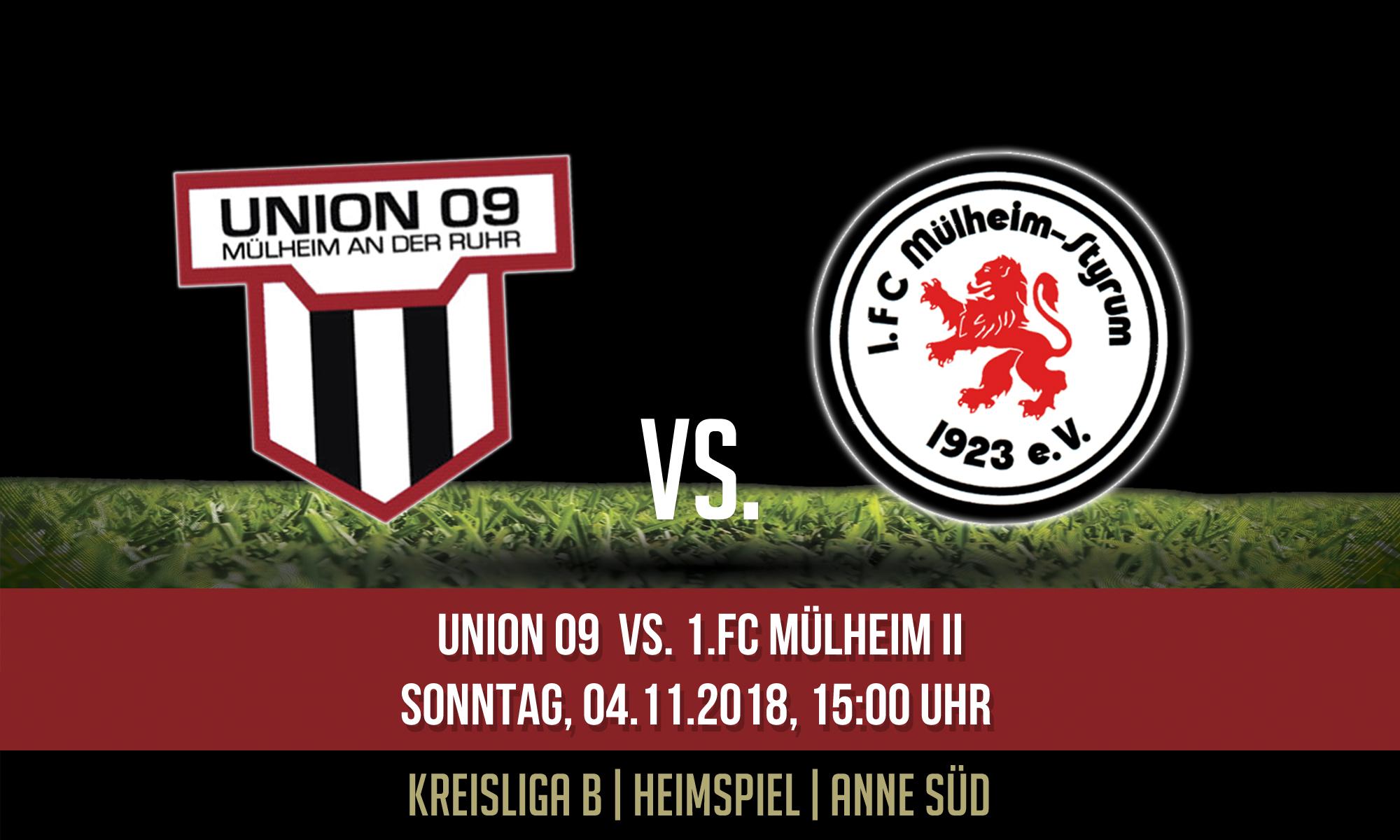 1.Mannschaft – Heimspiel gegen den 1.FC Mülheim II