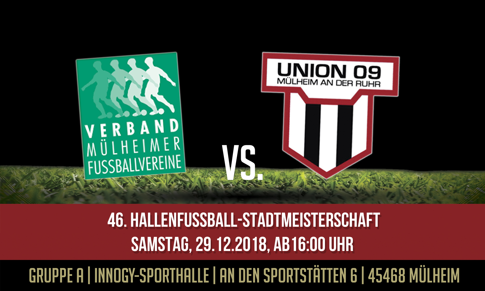 1.Mannschaft – Spielplan der 46. Hallenfußball-Stadtmeisterschaft
