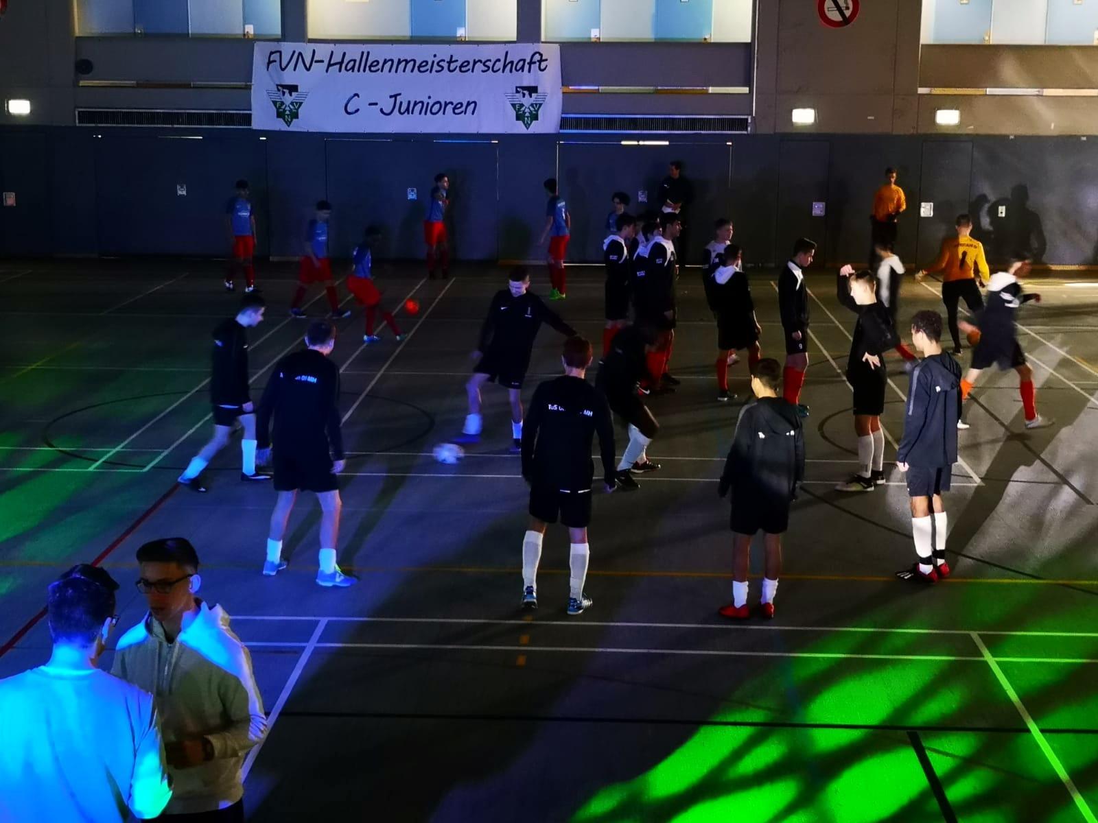 C1 – präsentiert sich in guter Form beim Futsal-Kreisbestenturnier
