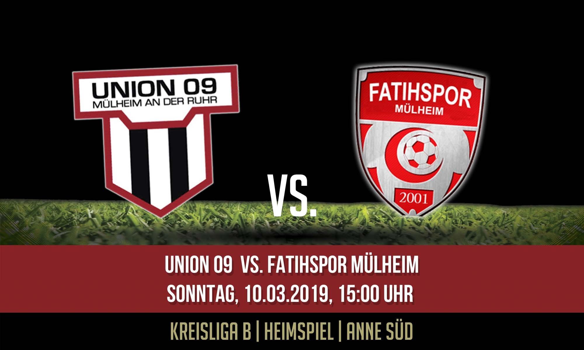 1.Mannschaft – morgen zu Gast anne Süd Fatihspor Mülheim