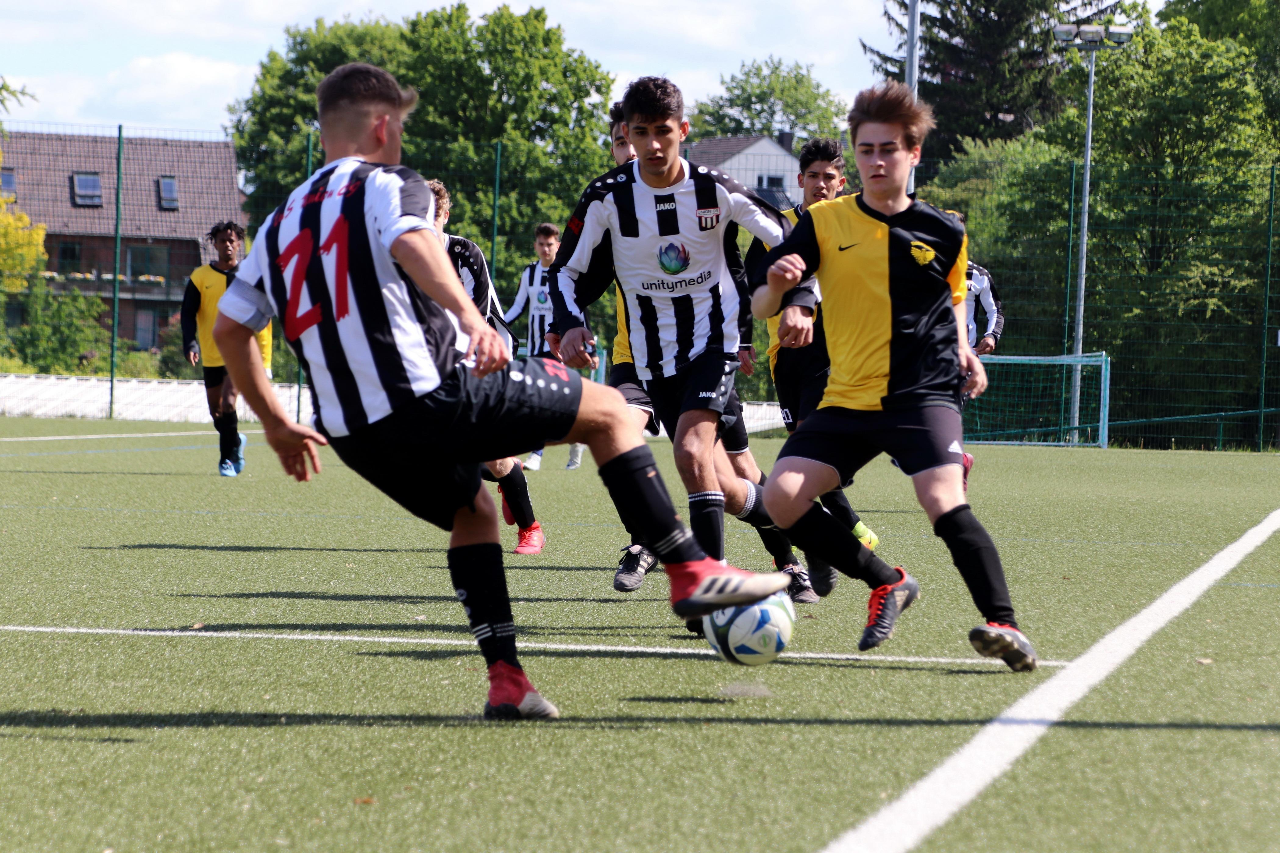 A1-Jugend – dreht nach toller Teamleistung das Spiel