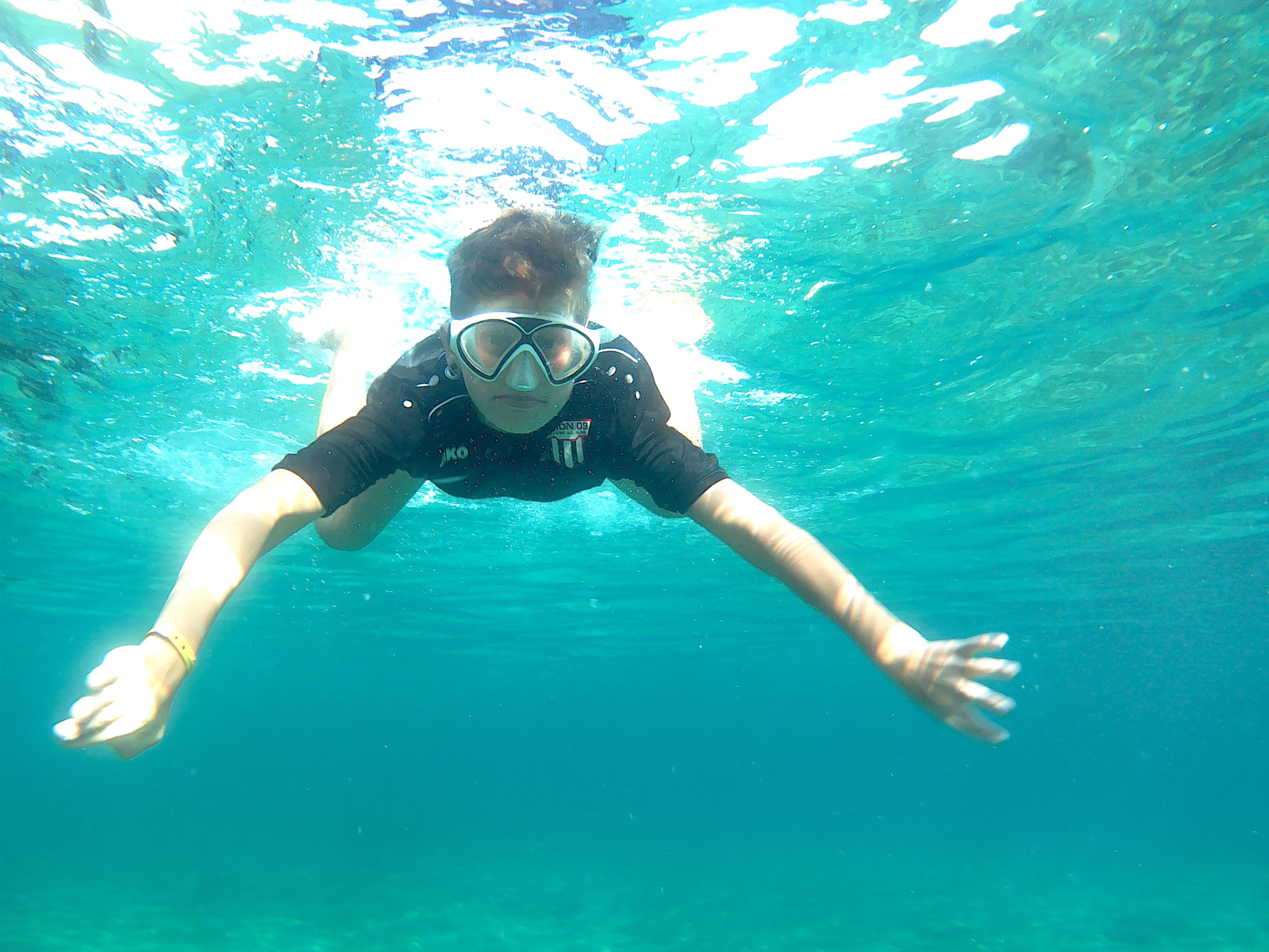 Fotoaktion – Grüße von der Stegna Bucht auf Rhodos