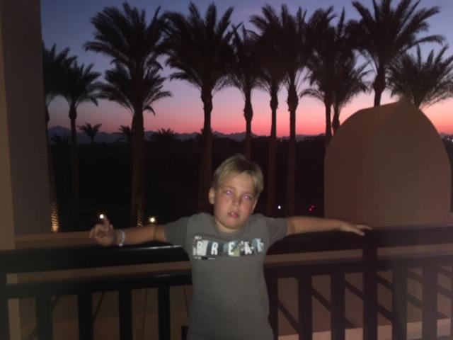 Fotoaktion – Luca grüßt aus Ägypten