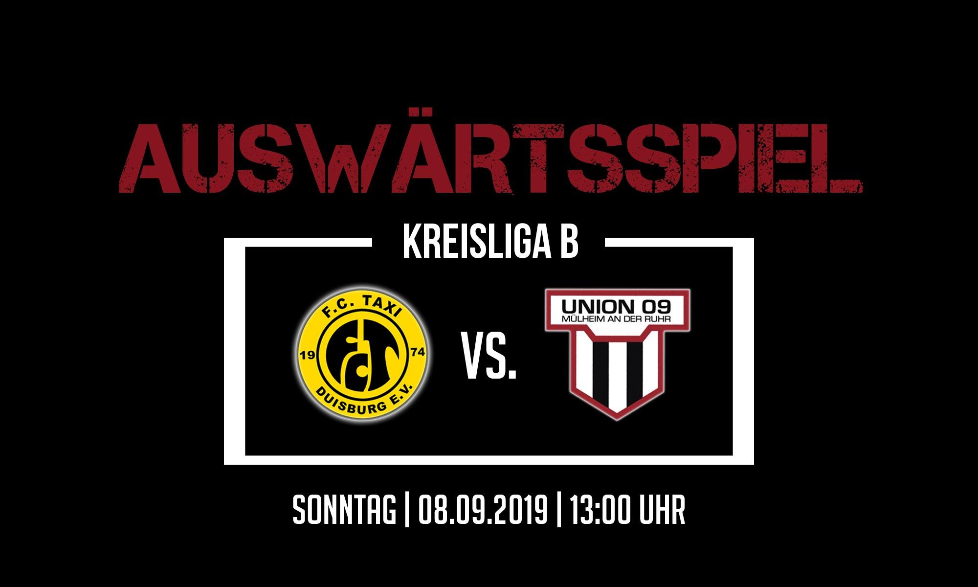 1. Mannschaft – zu Gast bei der Zweitvertretung des FC Taxi / DJK W´ort II.