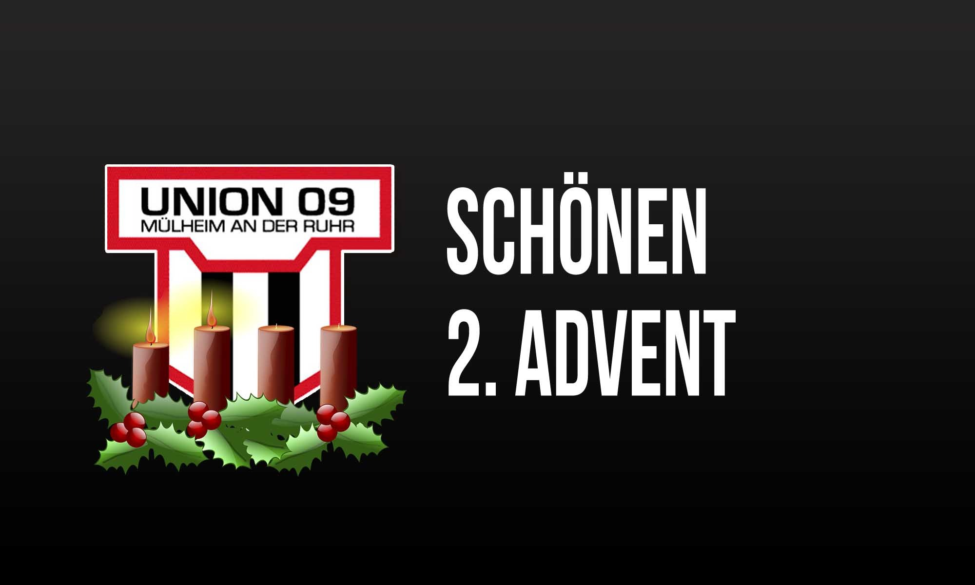Einen schönen 2. Advent wünscht der TuS Union 09 Mülheim