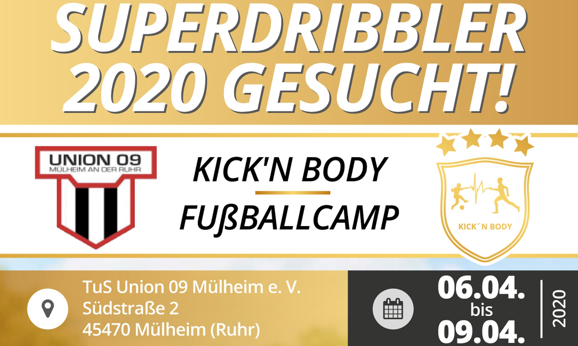 6. Kick´n Body Fußballcamp anne Süd