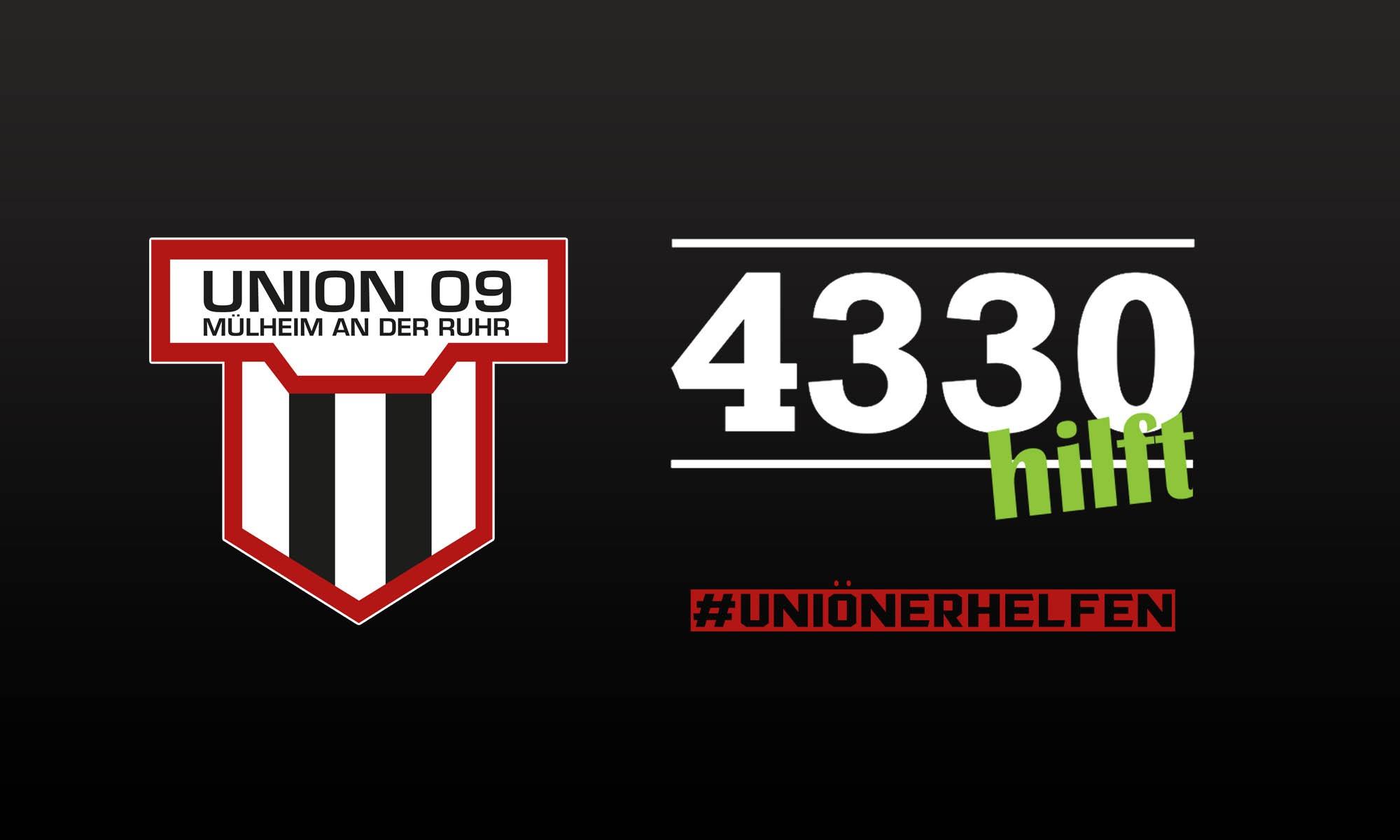4330 hilft & Uniöner machen mit!