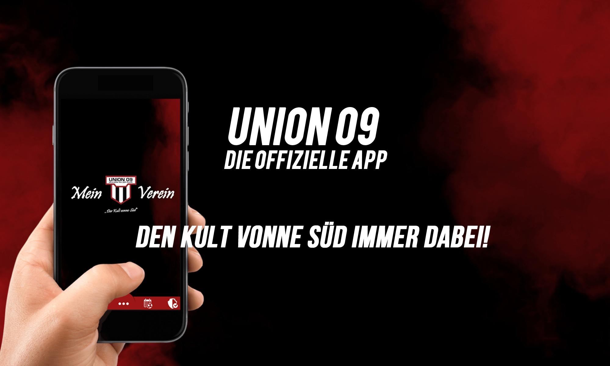 Union 09 Dein Verein – Deine App!